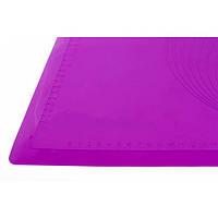 """Силиконовый коврик гладкий с разметкой 62 см 42 см """"Профи"""""""
