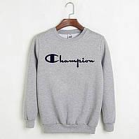 Свитшот Champion серый