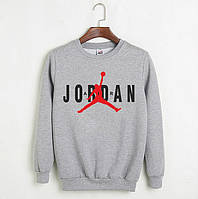 Свитшот Jordan серый
