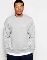 Свитшот Nike серый