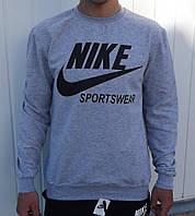 Свитшот Nike Sportswear серый