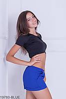 Женские шорты Подіум Dillon 19780-BLUE XS Синий
