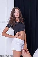 Женские шорты Подіум Dillon 19780-WHITE XS Белый
