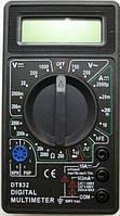 Dt-832, мультиметр цифровой, тестер для профессионального и домашнего использования, универсальный, фото 1