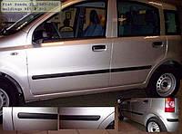 Молдинги на двери Fiat Panda II 2003-2012