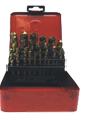 Набор сверл (TITAN) 25 ед, 1-13мм (металлическая коробка) Fangda