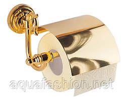 Золотий тримач туалетного паперу KUGU Versace Antique 211G