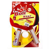 Ракетка для настольного тенниса Boli Star 9010. Распродажа