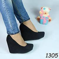 Туфли женские на удобной платформе + Бесплатная доставка 2 цвета 35,36,37,38,40 р-ры
