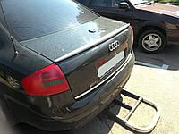 Спойлер на крышку багажника ( утиный, липовый спойлер ) Audi A6 C5 1998-2003 г.в. ABS пластик