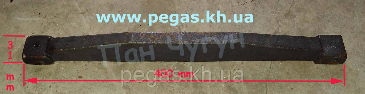 Колосник усиленный, чугунное литье (400 мм) печи, мангалы, барбекю