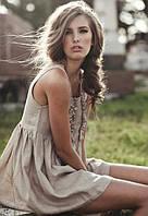 Льняные летние платья - роскошь в подарок от природы!