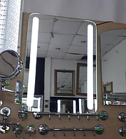 Зеркало 500*700 мм со светодиодной подсветкой, индивидуальный размер