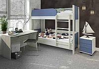 Домино кровать двухъярусная (Сокме)