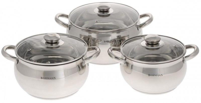 Набор посуды Bohmann BH-0506 (6 предметов)
