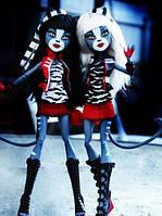 Набор кукол Монстер Хай Пурсефона и Мяулодия Monster High Meowlody &Purrsephone