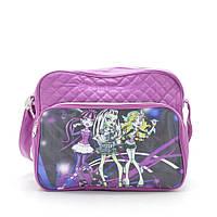 Женская сумка M-7781 «monster high» фиолетовая
