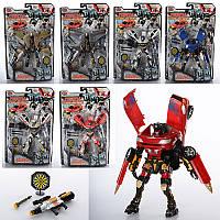 """Игрушка робот-трансформер """"Роботы спасатели""""8072 Joy Toy"""