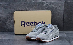 Кроссовки мужские Reebok Classica серые, фото 2