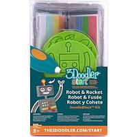 Набор аксессуаров для 3D-ручки 3Doodler Start - РАКЕТА (48 стержней, 2 шаблона)