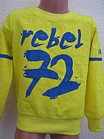 """Кофта жовтого кольору """"Rebel 72"""" для хлопчика (8 років)"""