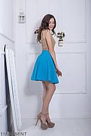 Женская юбка солнце-клеш Подіум Warence 11850-MINT XS Ментоловый