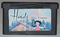 "Картридж на GBA ""Heidi the Game"""