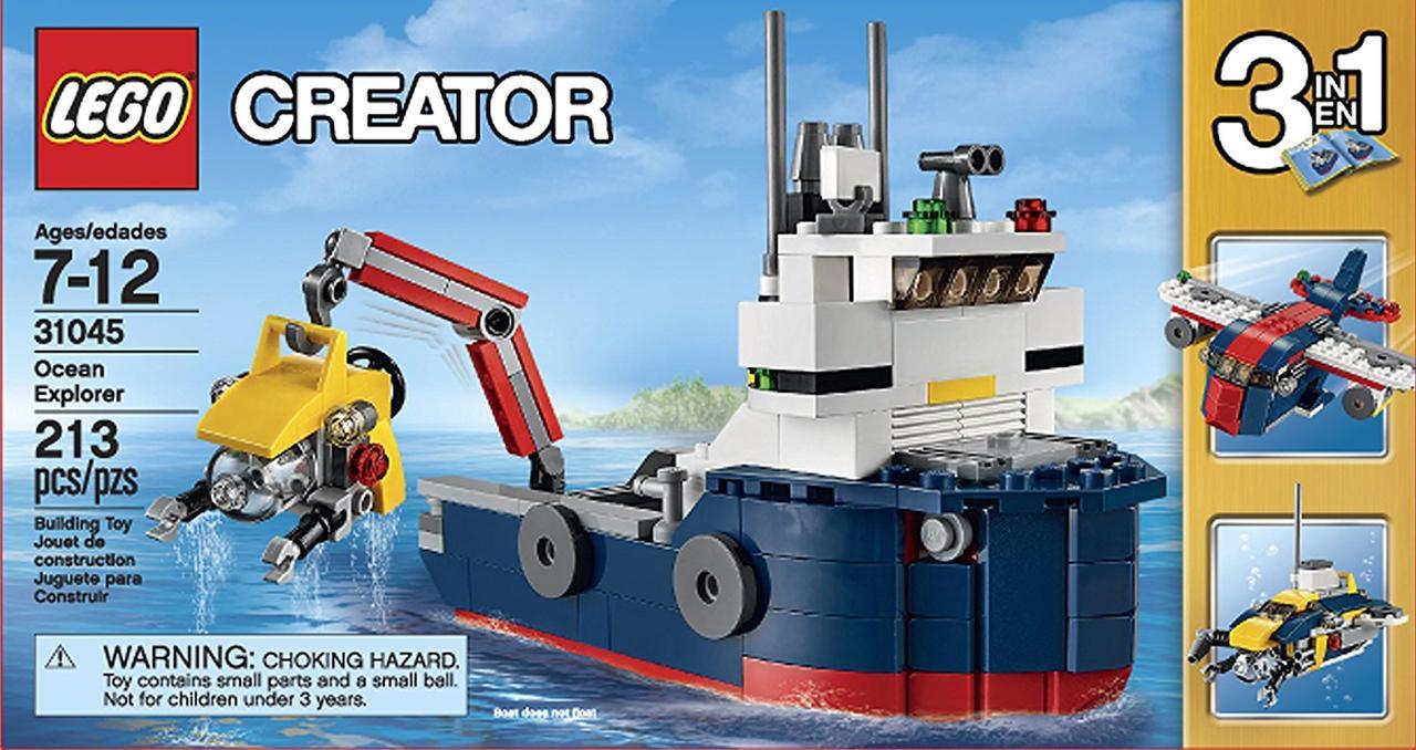 Конструктор Lego Creator ocean Подводный зонд (31045)