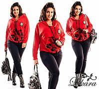 Женский спортивный костюм трехнитка размер 48-50,52-54