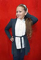 Блузка обманка для девочки 7-14 лет