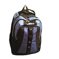 Рюкзак молодежный ортопедический Adadas GS1008 черно-синий