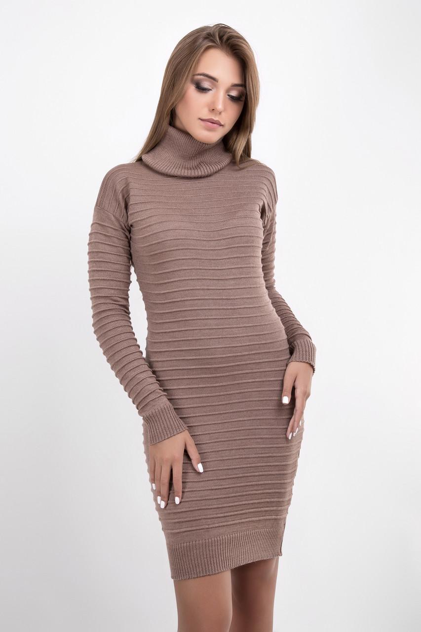 Платья Теплые Трикотажные Купить
