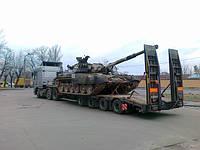 Перевозке военной техники для Вооруженных сил Украины, перевока танка с Киева в Харьков на ремонт (14.10.2011)