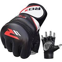 Перчатки ММА RDX Rex Leather Black XL