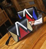 Красочная женская сумка-сундучок. Отличное качество. Яркий дизайн. Удобная сумка. Купить онлайн. Код: КДН2107