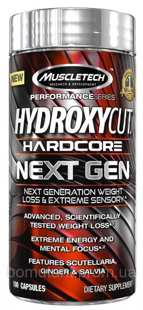 Hydroxycut Hardcore Next Gen 100 капсул MuscleTech