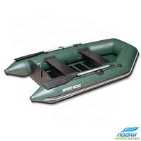 Моторная лодка Sport Boat DM260S надувная Реечный настил и поворотные уключины