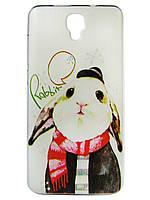 Чехол для Fly FS514 Cirrus 8 с рисунком Кролик