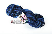 Пряжа Aade Long Kauni Artisric Yarn 8/2  Кауни Арстистик Ярн 8/2, синий, цена за 100 грамм