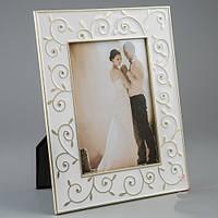 """Красивые рамки для фотографии из метала """"Объятия"""" (19*25 см, ф - 13*18 см)"""
