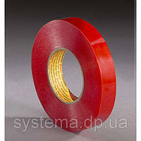 3M™ 9088FL - Двухсторонний скотч, 6,0 мм х 50 м х 0,205 мм