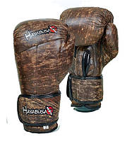 Перчатки боксерские кожаные HAYABUSA KANPEKI 10oz коричневый