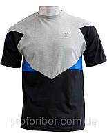 Мужская футболка Adidas из хлопка, одежда Харьков, брендовые футболки V-M-F-07-2-504