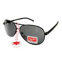 Солнцезащитные очки Ray Ban Aviator Polarized, капли с поляризацией, солнечные очки, очки авиаторы