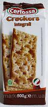 Крекеры салатные Integrale Crackers Италия, 500 г.