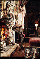 Сексуальные кружевные чулки Lace Stockings With Ornamental