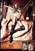 Чулки с бантом Black Stockings
