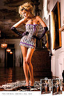 Сексуальный пеньюар Zebra Lace Tube Dress