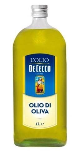 Оливкова олія De Cecco Olio di oliva рафінована 1 л.