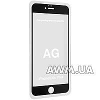 Защитное стекло iPhone 6+ AG 2,5D (черный)